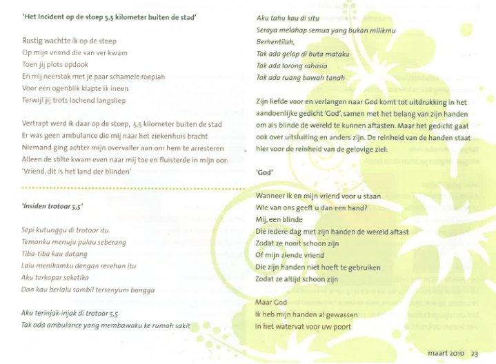 Antonius 2bc. tekst1 - Antonius Silalahi Gedichten