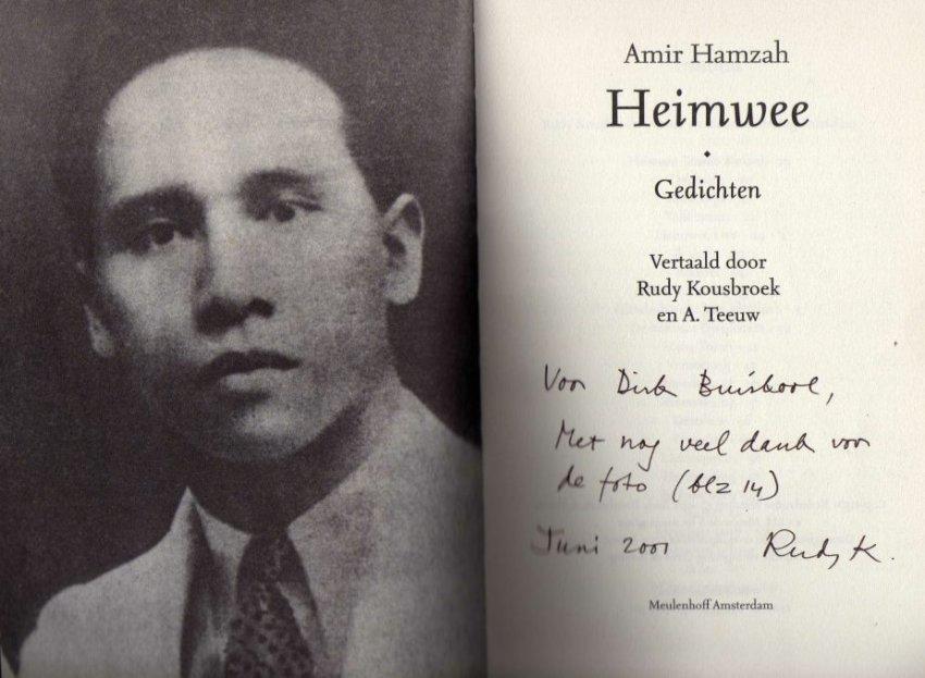 Heimwee2b foto Amir Hamzah1a1 - Amir Hamzah Gedichten