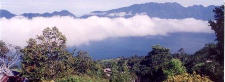 Lake Maninjau 1 - Het Maninjau meer