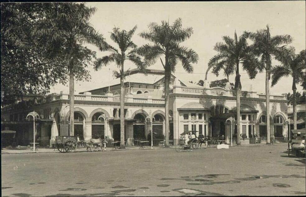 Medan 1930s Hotel de Boer 1930s RPPC 1 - blog Page