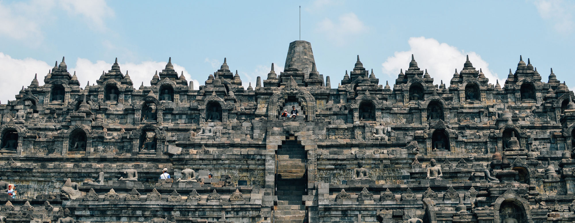 borobudur2 - Jogyakarta met Tempels