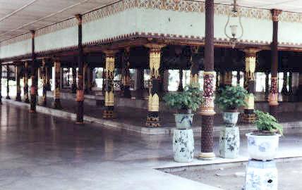 jogyakarta kraton1 - Jogyakarta met Tempels