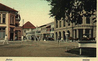 Kesawan street Medan