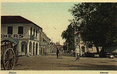 Esplanade seen from Kesawan street Medan