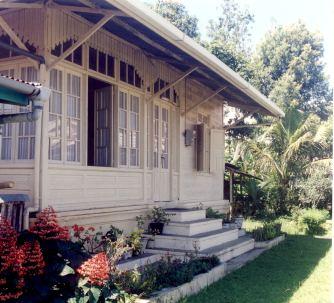 Kota Gadang Blue House