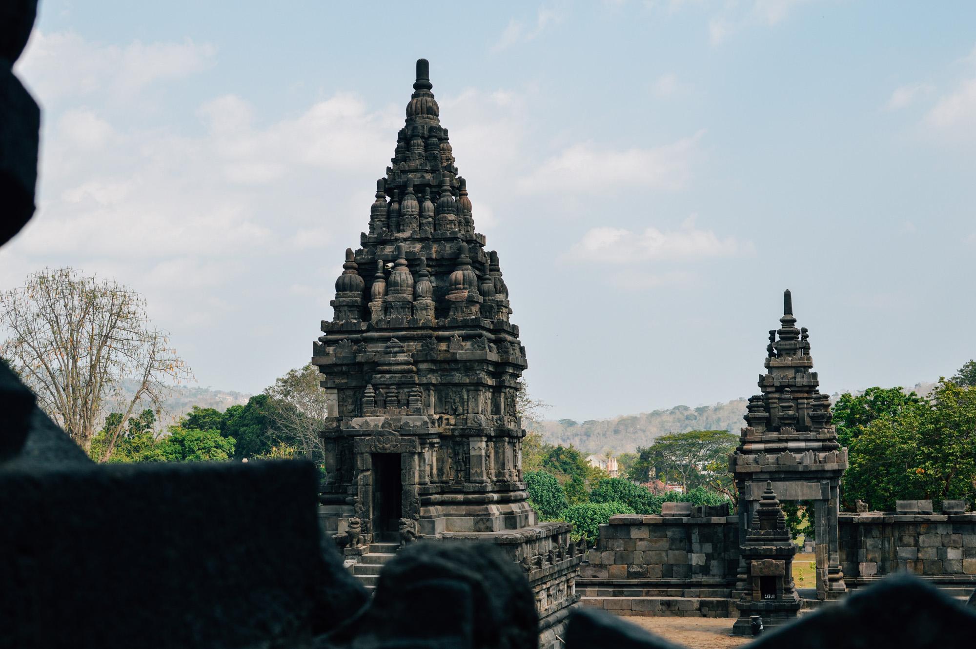prambanan 2 - Jogyakarta met Tempels