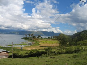 samosir bay 300x225 - Lake Toba
