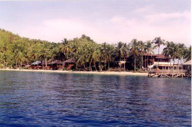 sikuai bay steiger - Pulau Banyak, Poncan Gadang, Sikuai, Cubadak