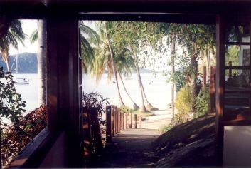 sikuai view from restaurant - Pulau Banyak, Poncan Gadang, Sikuai, Cubadak