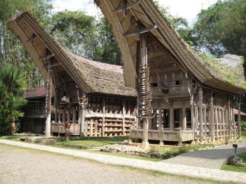 sulawesi toraja houses - Toraja