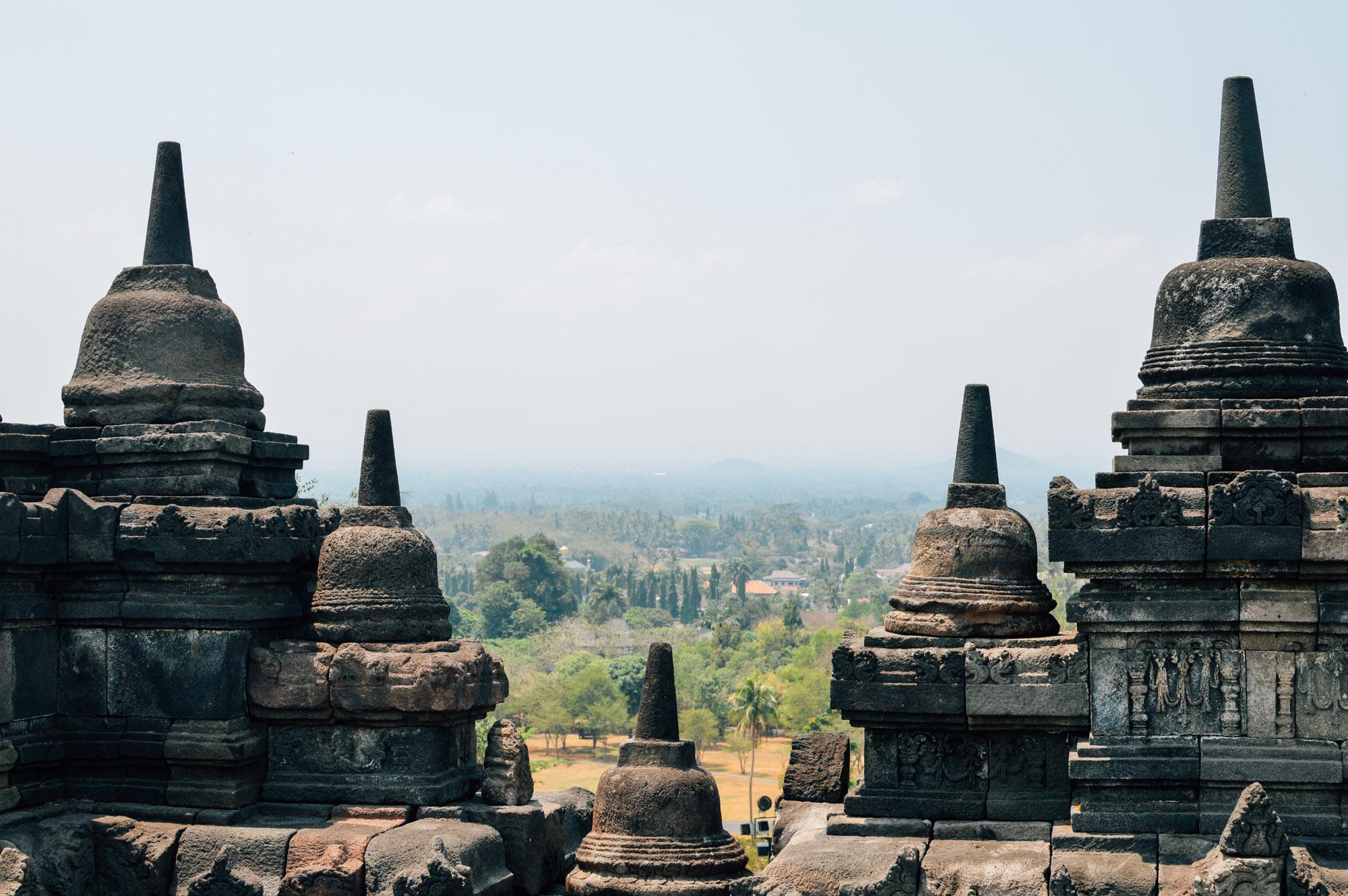 yogya 1 2 - Jogyakarta met Tempels